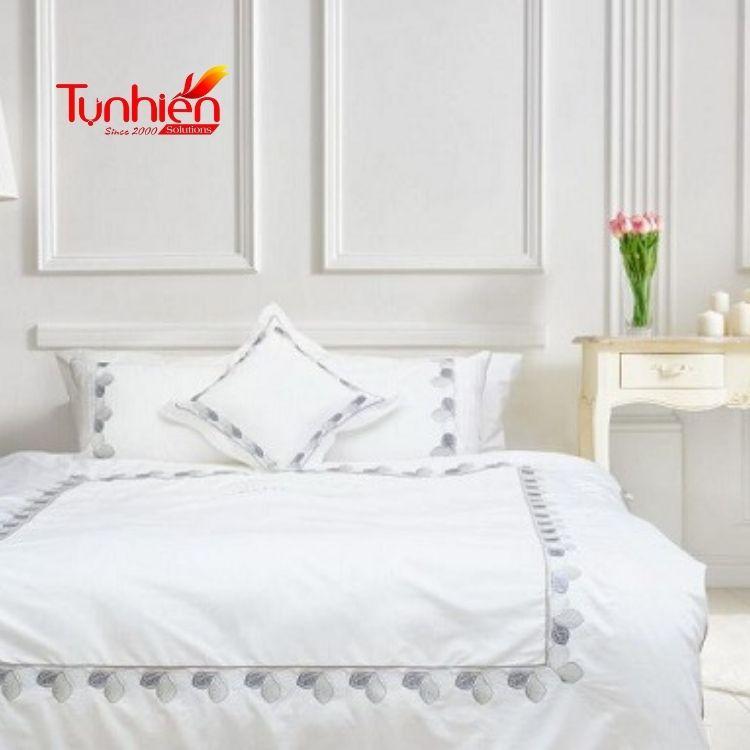 Tại sao các khách sạn thường chọn ga trải giường có màu trắng?