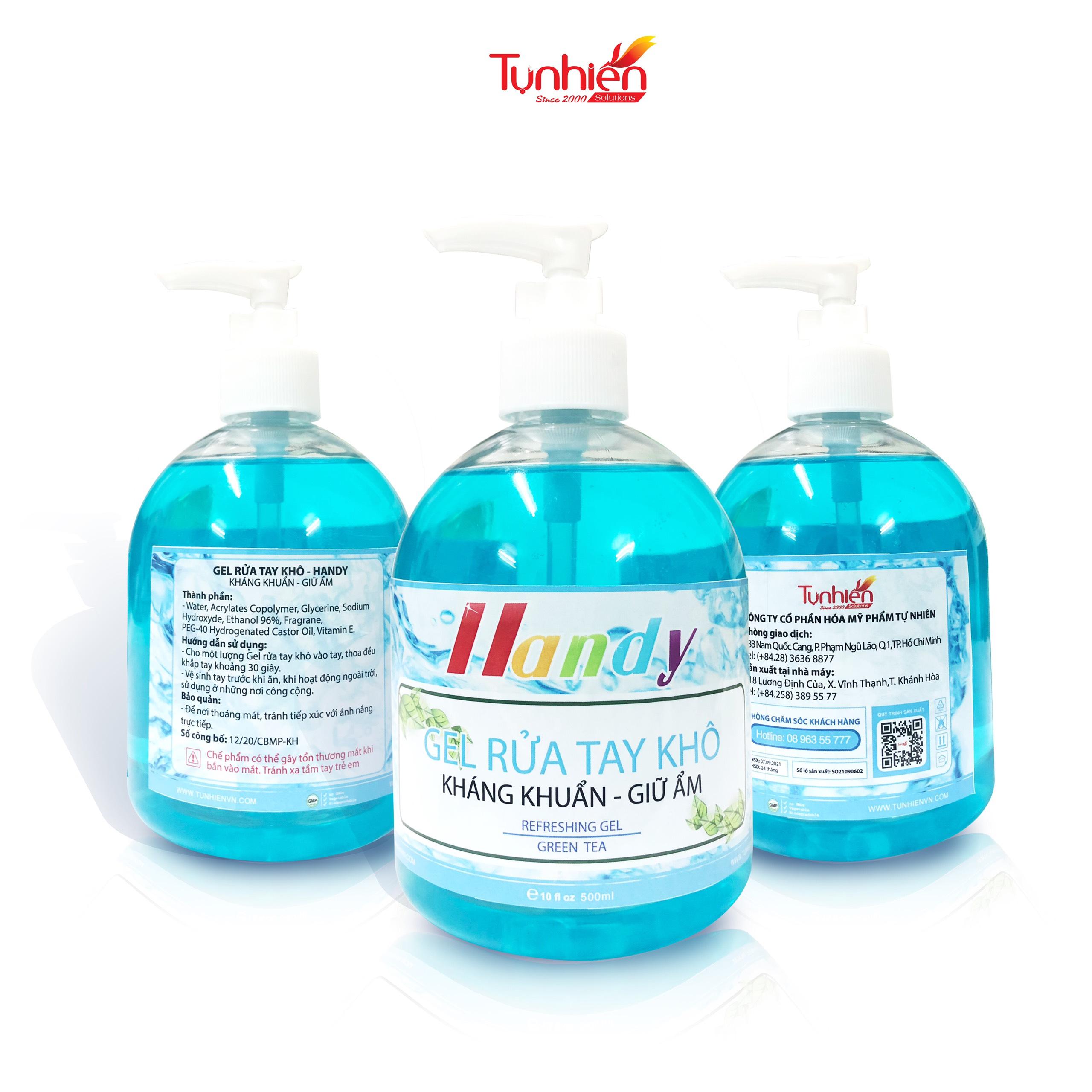Giới thiệu nước rửa tay khô HANDY